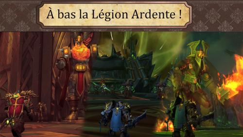 A bas la Légion Ardente !